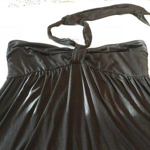 Avenue Knit Black Maxi Dress